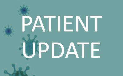 Covid 19 Patient Update